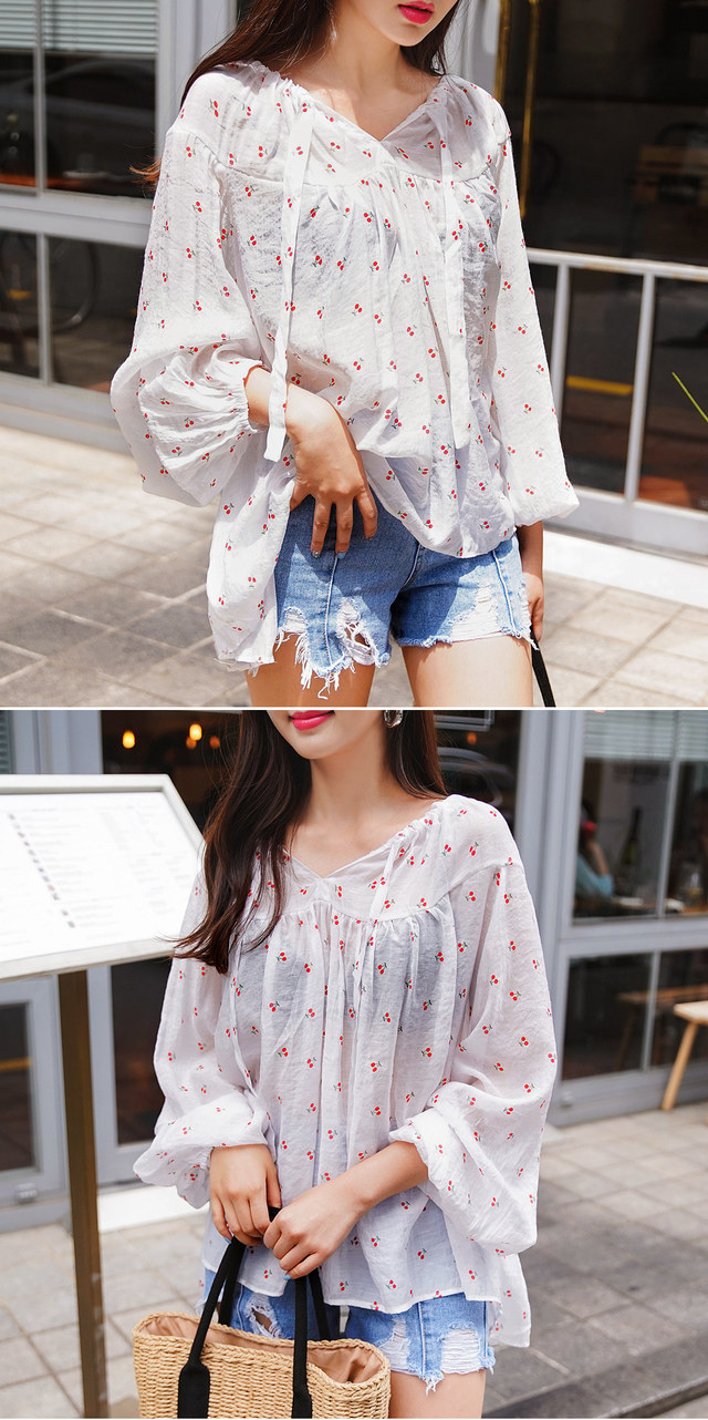 Cherry Fang Blouse