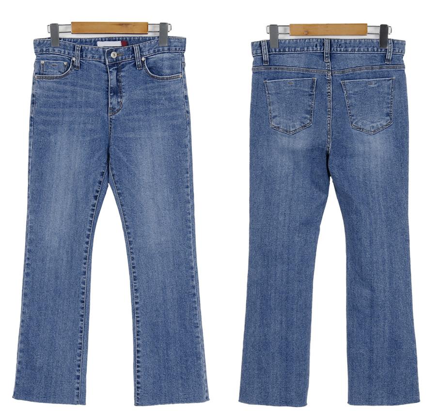 Dear blue boots-cut denim_S (size : XS,S,M,L,XL)