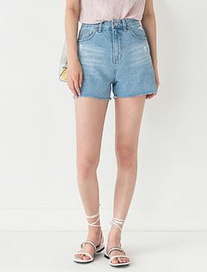 wearable damage cutting shorts