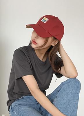 샤크 볼캡 모자 (3color)