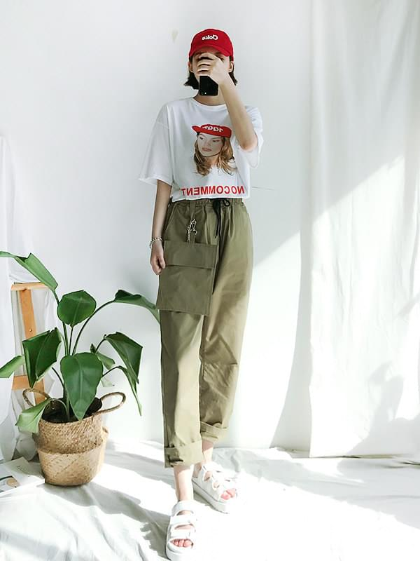Pocket SET Date Pants