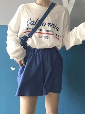 캘리포니아 레터링티셔츠
