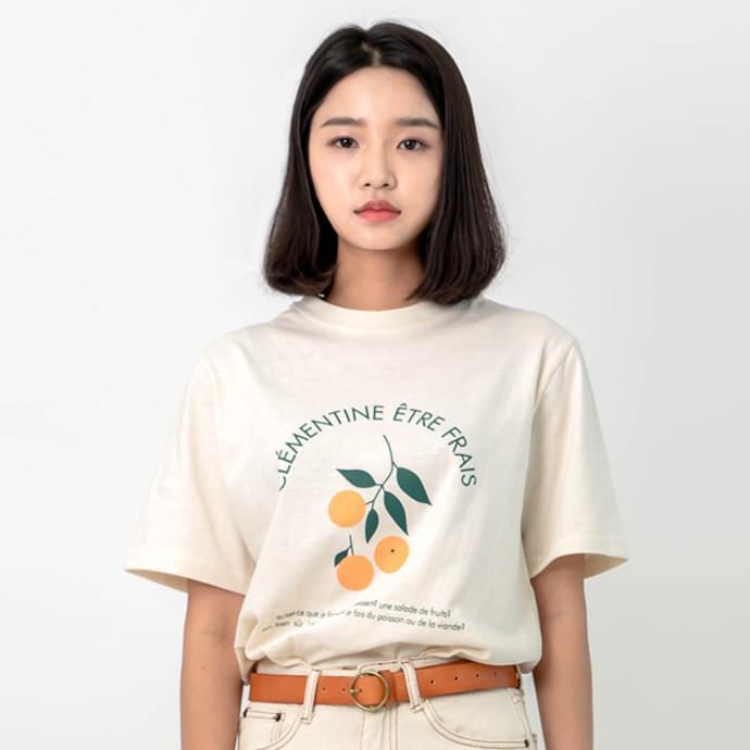 클레멘 티셔츠