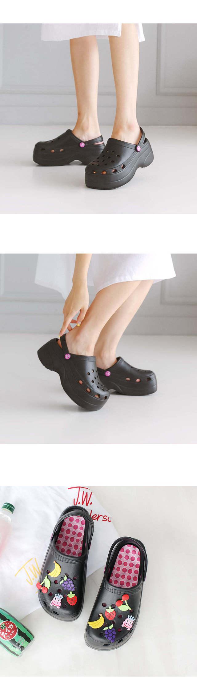 Fleurs Tongue Aqua Sandals 5cm