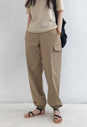 Cargo jogger pants (3colors)