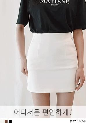 DOLL H LINE MINI SKIRT