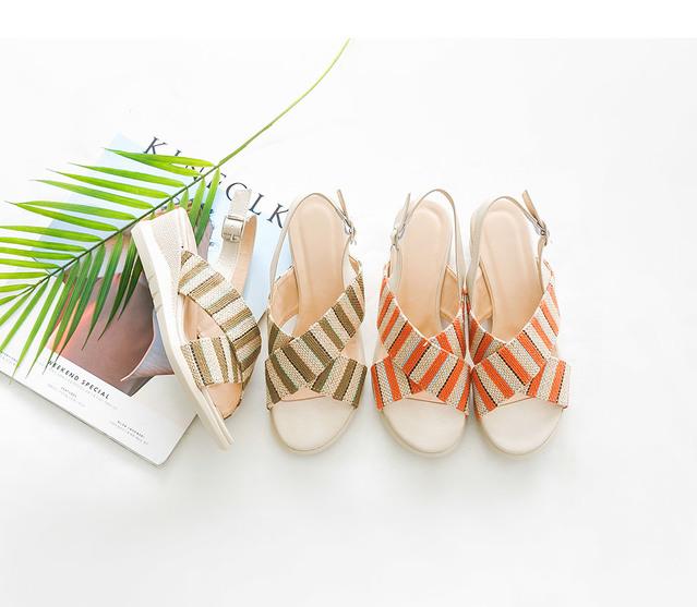 Le Paden Wedge Hill Sandals 5cm