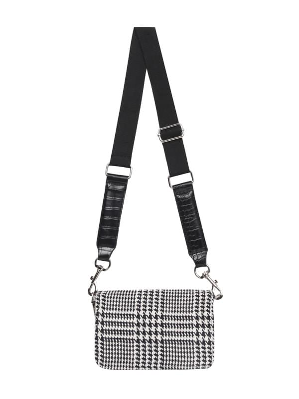 hounds tooth check croos bag