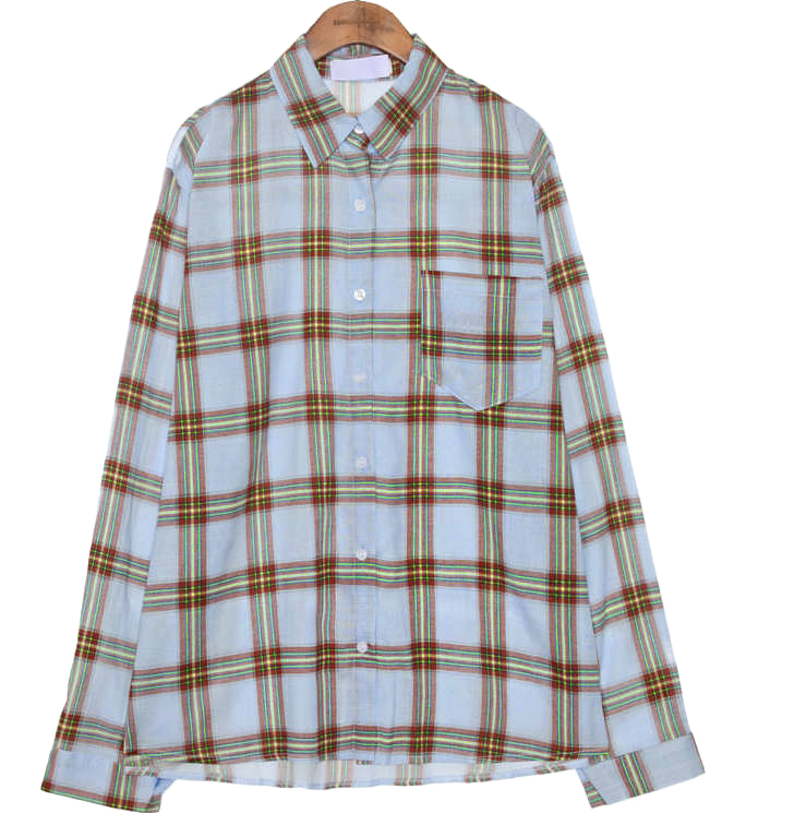 FAIR TONE VINTAGE CHECK SHIRTS