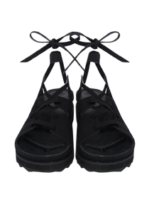 suede gladiator sandals