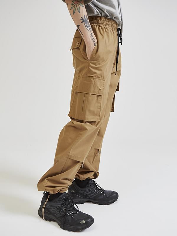 multi pocket cargo pants (2 color) - UNISEX