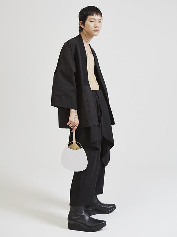 samourai cardigan (2 color) - UNISEX