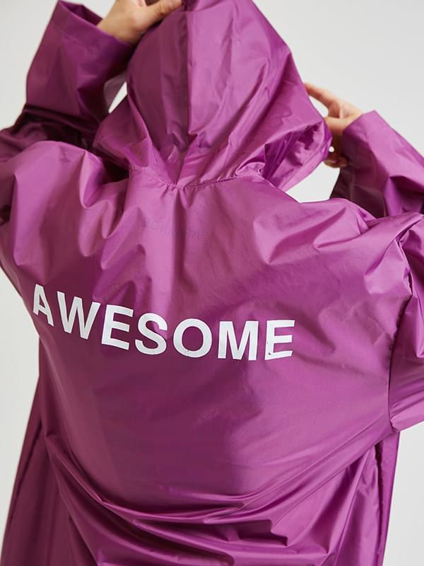 awesome rain coat (3 color) - UNISEX