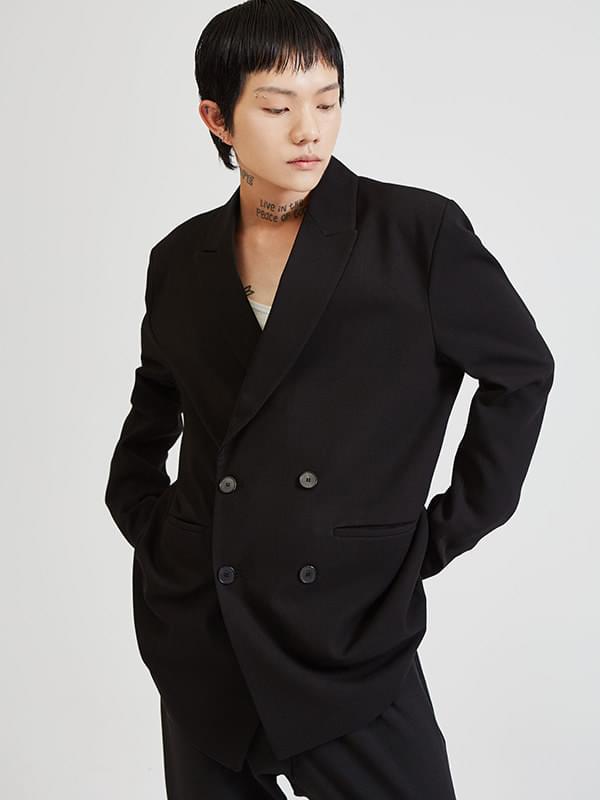 classic double jacket - UNISEX