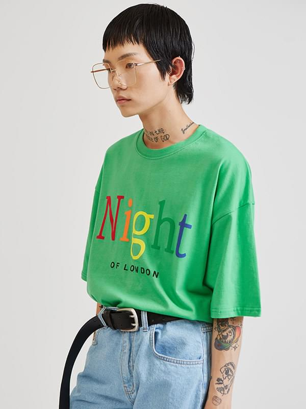 night of london 1/2 T (3 color) - UNISEX