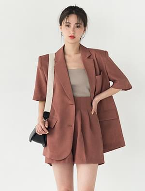 5-sleeve over fit jacket