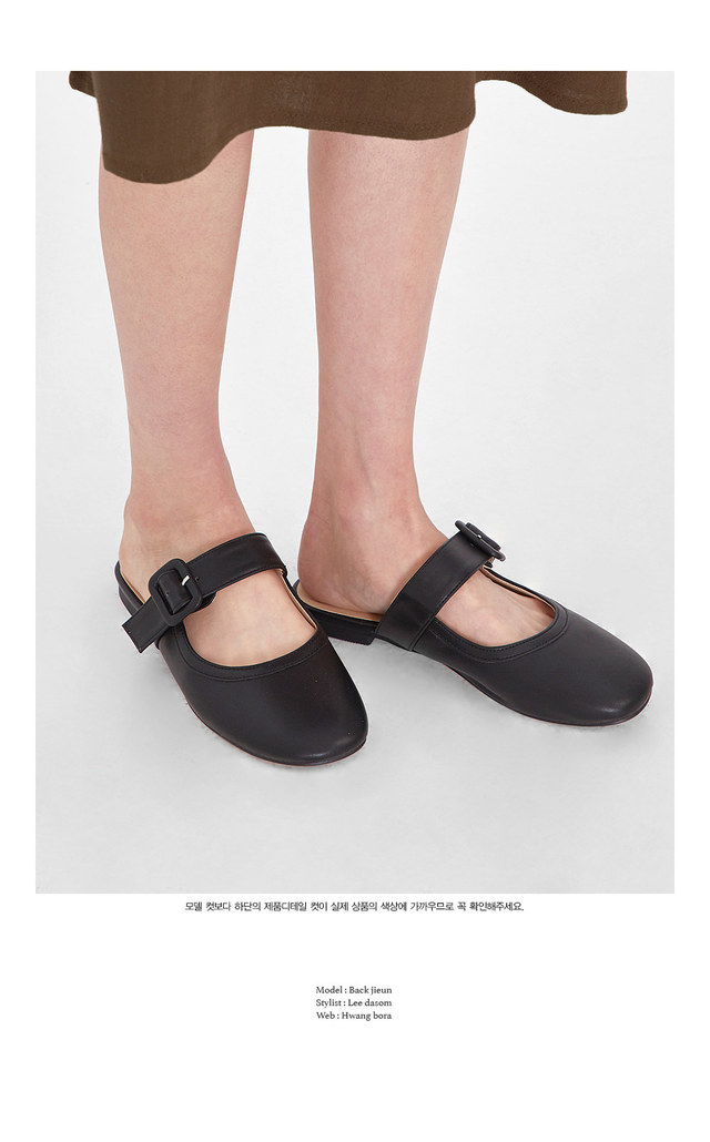lover round buckle shoes (230-250)