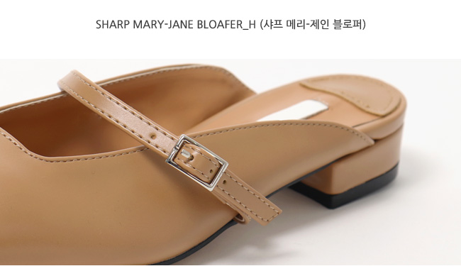 Sharp mary-jane bloafer_H (size : 230,235,240,245,250)