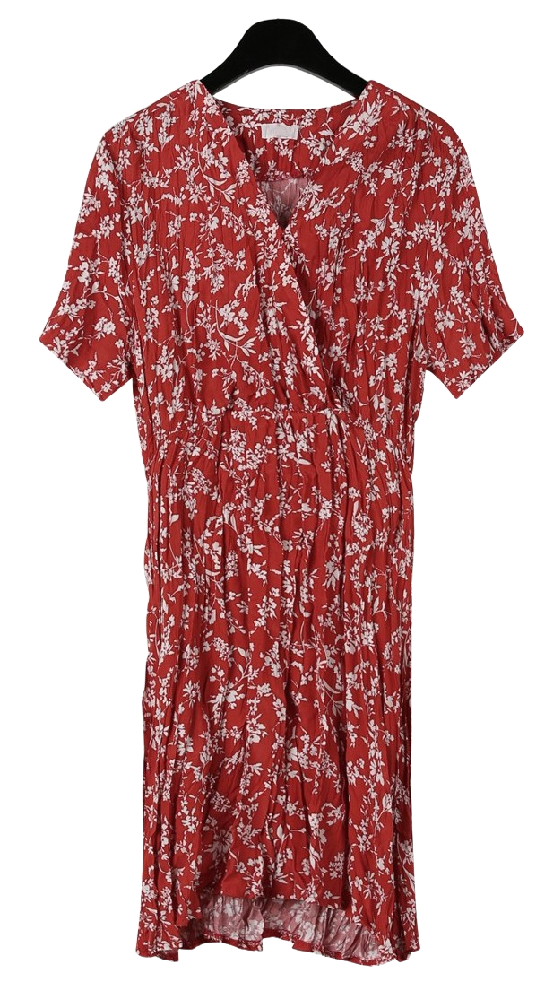 Vivid floral mini dress