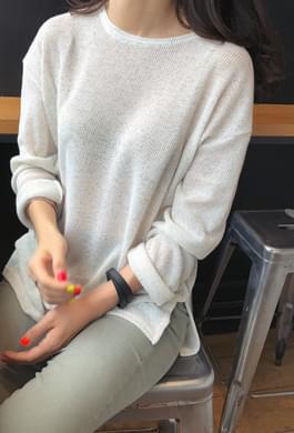 가벼운 간절기 니트 (4 colors)