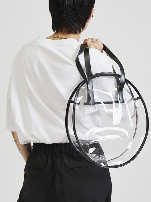 round pvc bag (2 color)