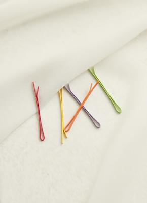 Colorful hairpins