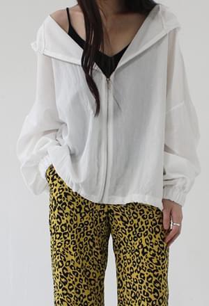 Ivory hood jumper