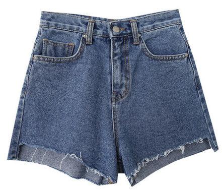 Party-denim shorts