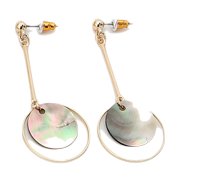 Vintage mood earring set