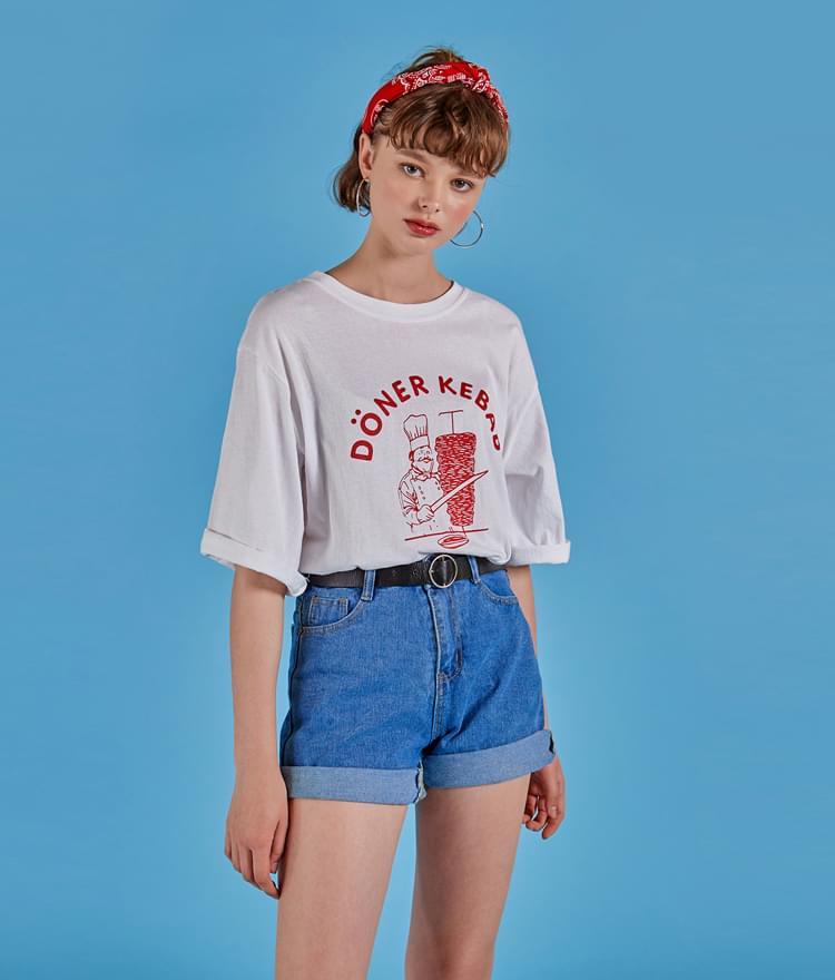 케밥 티셔츠