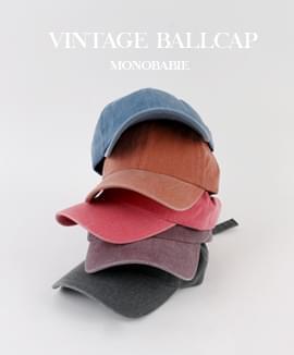 Vintage Washing Ball Cap
