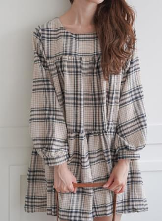 Pirin check dress