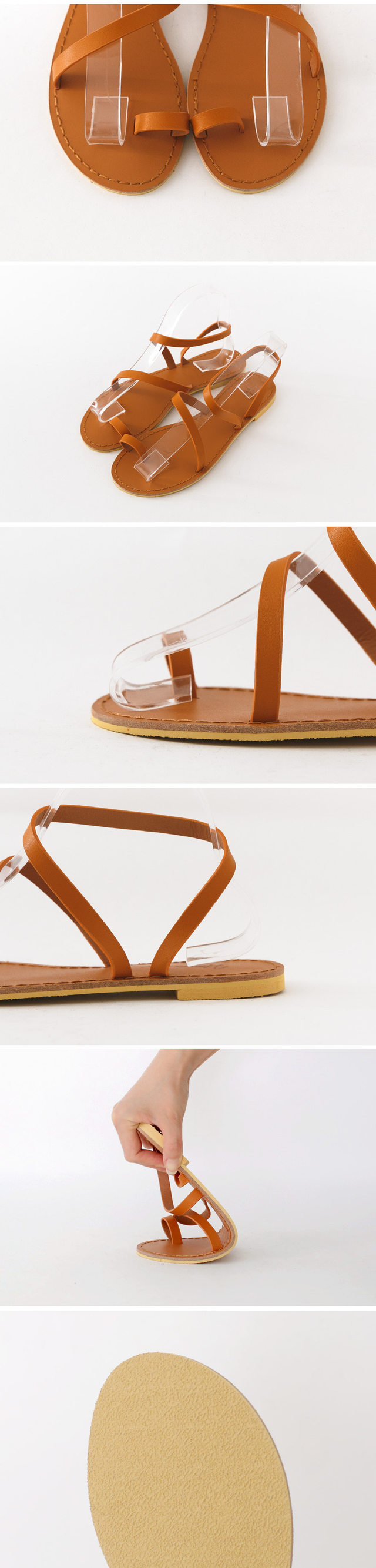 Boldein Slingback back sandals 1cm