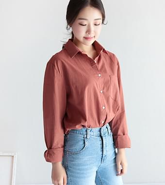 모어 베이직 셔츠(4color)