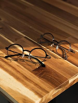 round shape point glasses