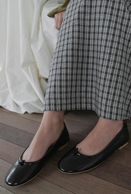 Cute knot flat shoes