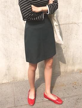 Usually basic mini skirt_K (size : S,M)