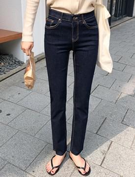 Bending skinny cutting jean_B (size : S,M,L)