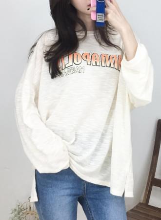 메리랜드 오버핏 티셔츠