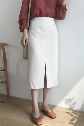 Way front long skirt ★ order rush!