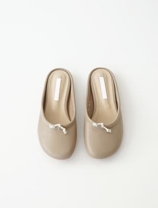soft touch mule slippers (4colors)