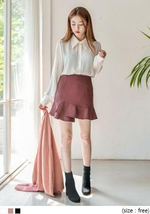 ALICE RIBBON TIE CHIFFON BLOUSE