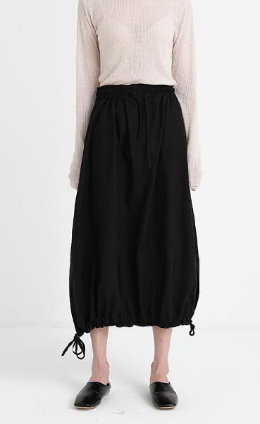 banding strap skirt (2colors)