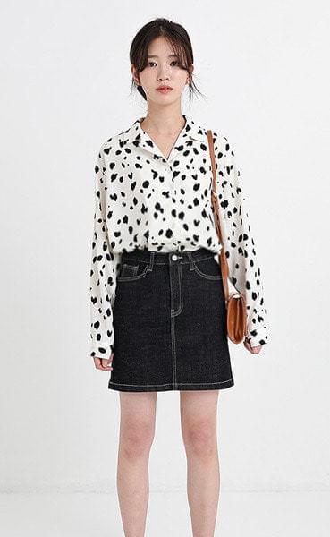 leo blouse (2colors)