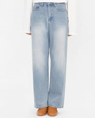 push vintage mood denim pants (s, m)