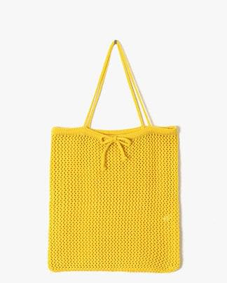 warm knitting bag