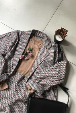 비엔나체크자켓