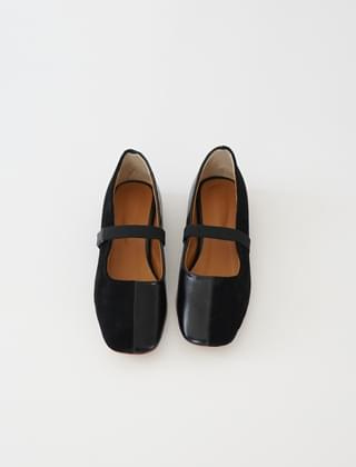 band square toe shoes (3colors)