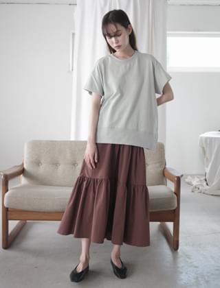 short sleeve cotton mtm (3colors)