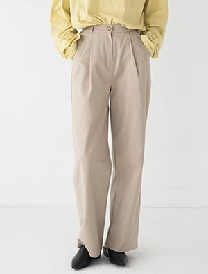 maxi cotton wide pants